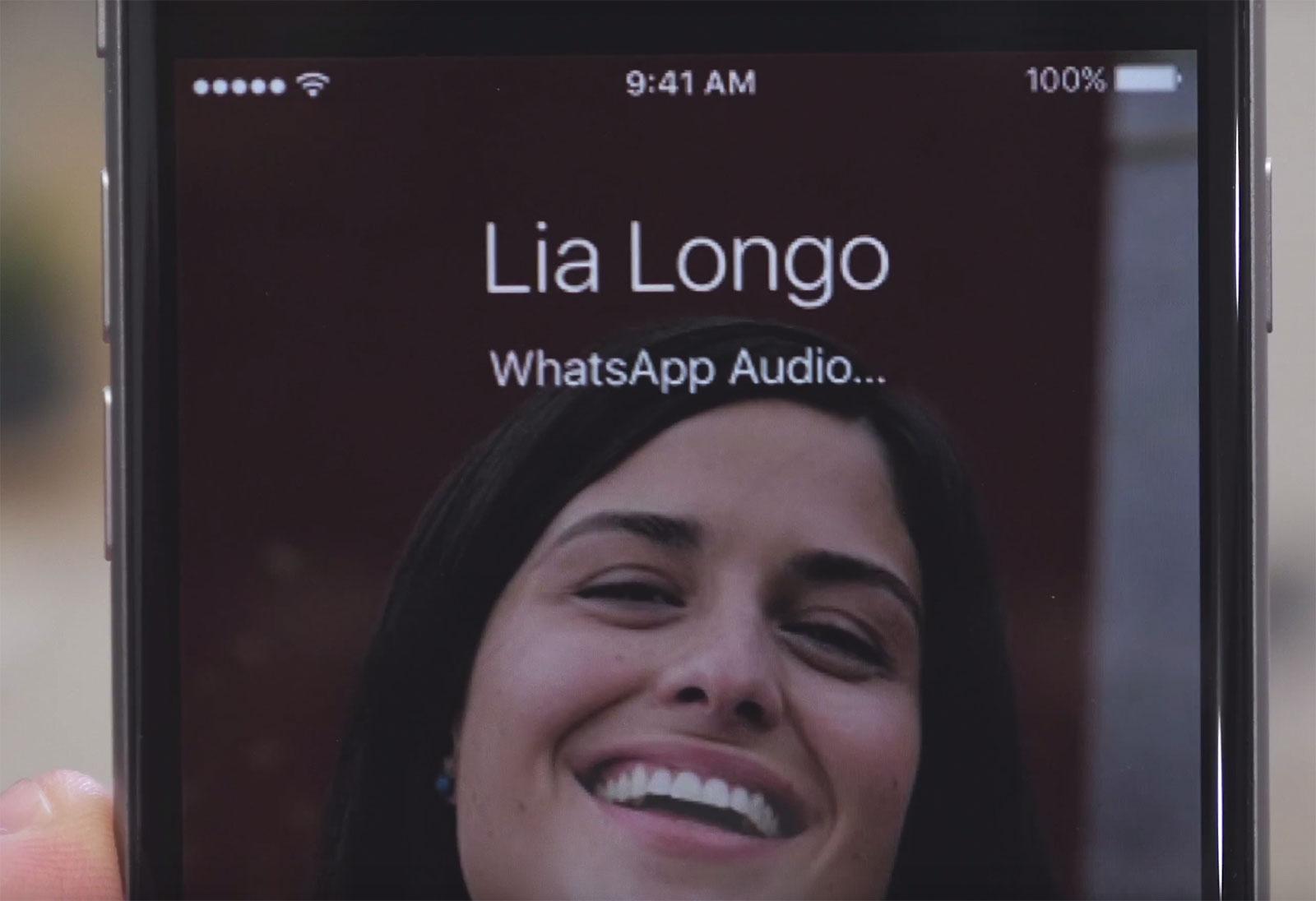 Llamadas de Whatsapp a pantalla completa