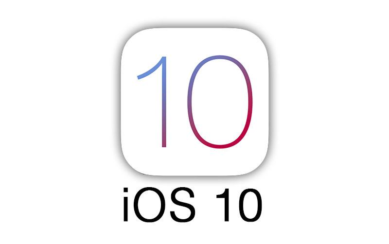 Logo de iOS 10