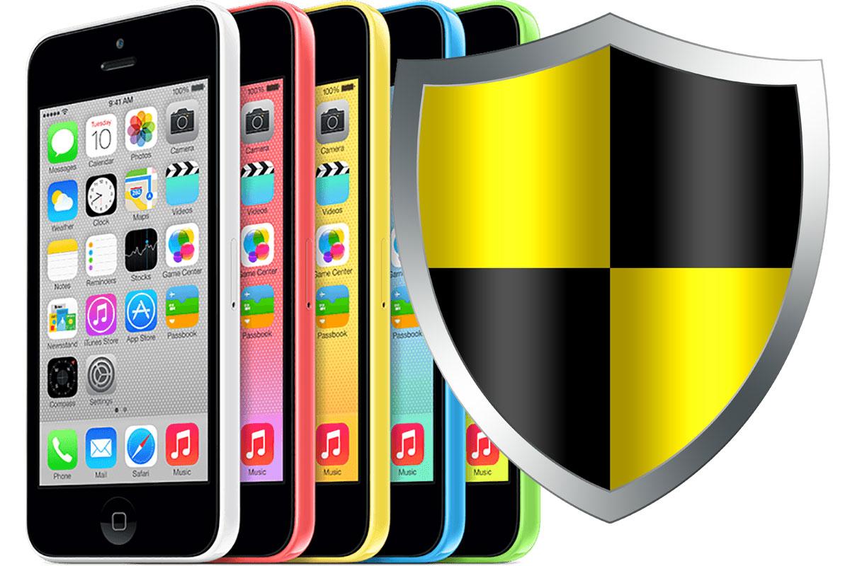 Seguridad del iPhone 5C