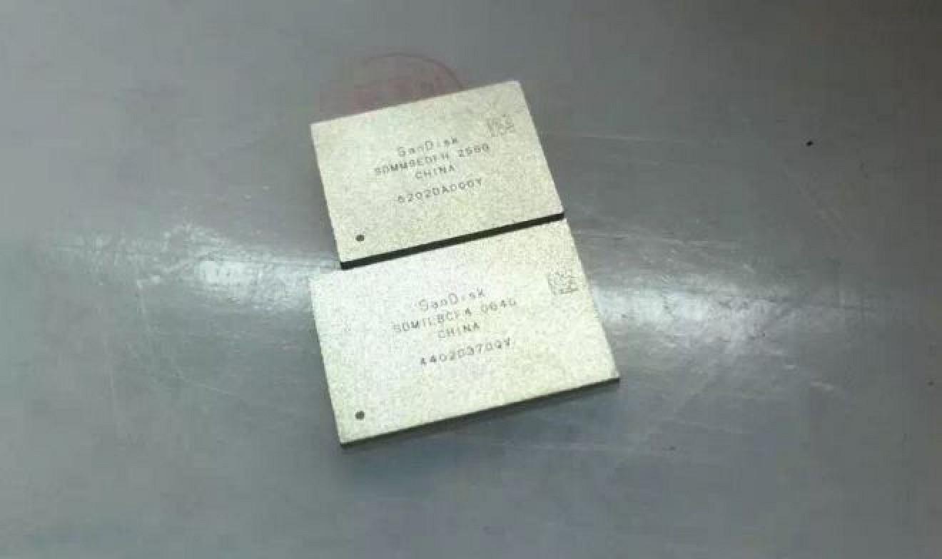 Chip de memoria NAND Flash de SanDisk de 256GB