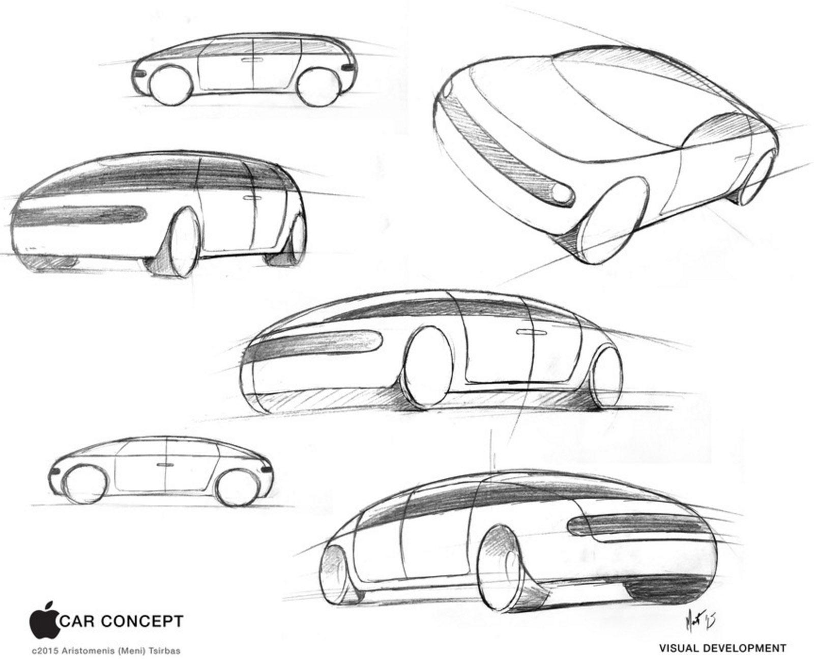 Concepto de diseño de coche de Apple de Aristomenis (Meni) Tsirbas