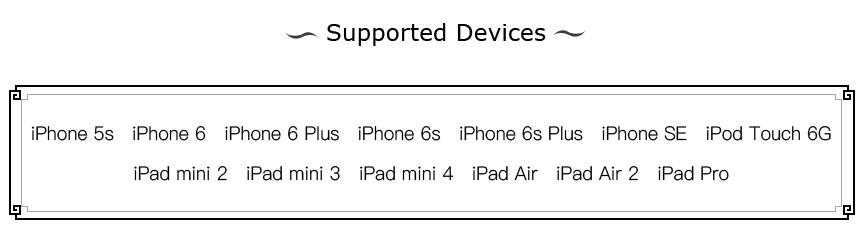 Dispositivos compatibles con el Jailbreak de Pangu