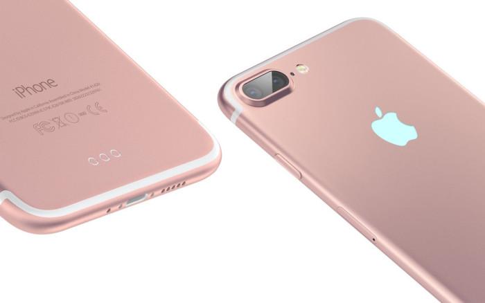 iPhone 7 Plus oro rosa