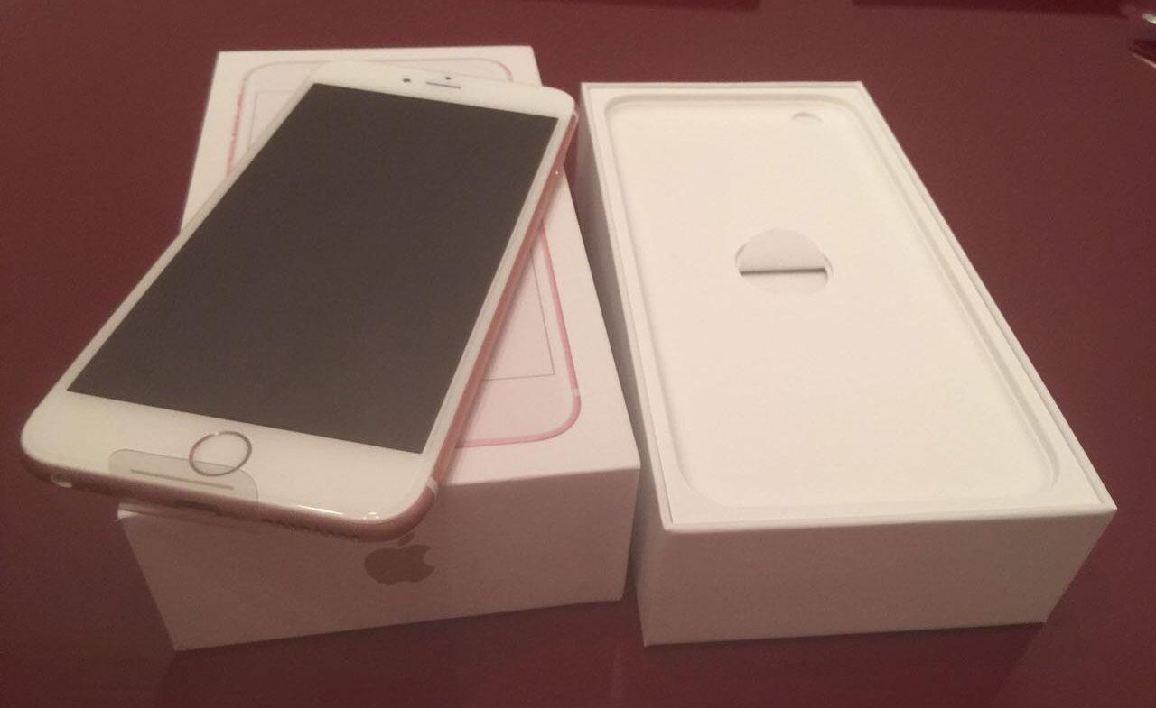 Nuevo iPhone 6S color oro rosado