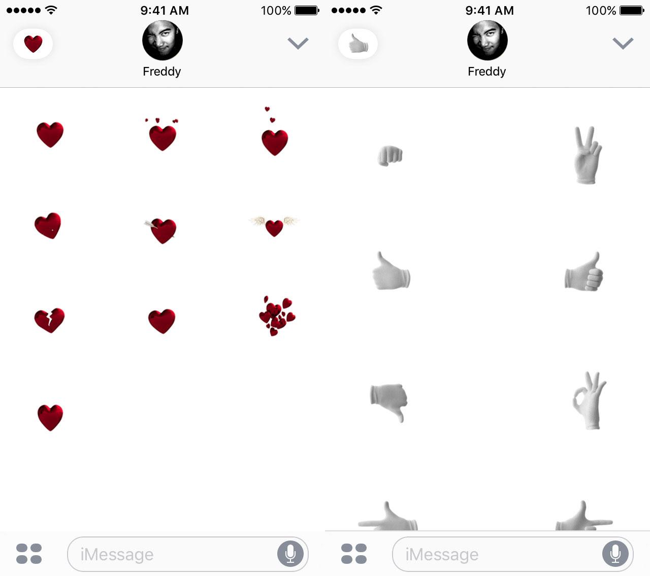 Emojis animados de Apple