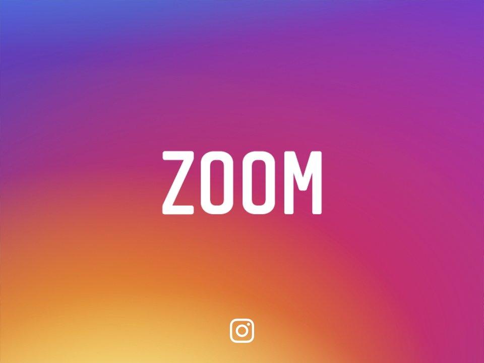 Hacer Zoom en Instagram