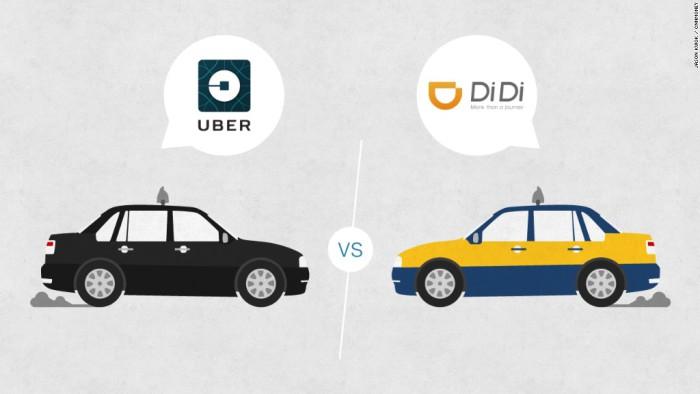 Didi-Chuxing Uber
