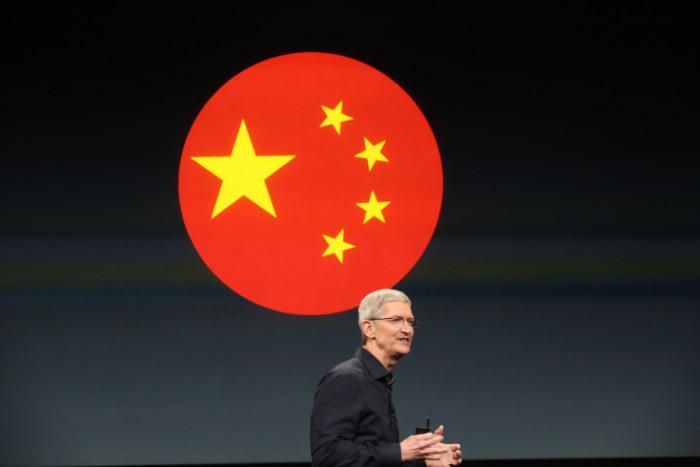 Tim Cook en China