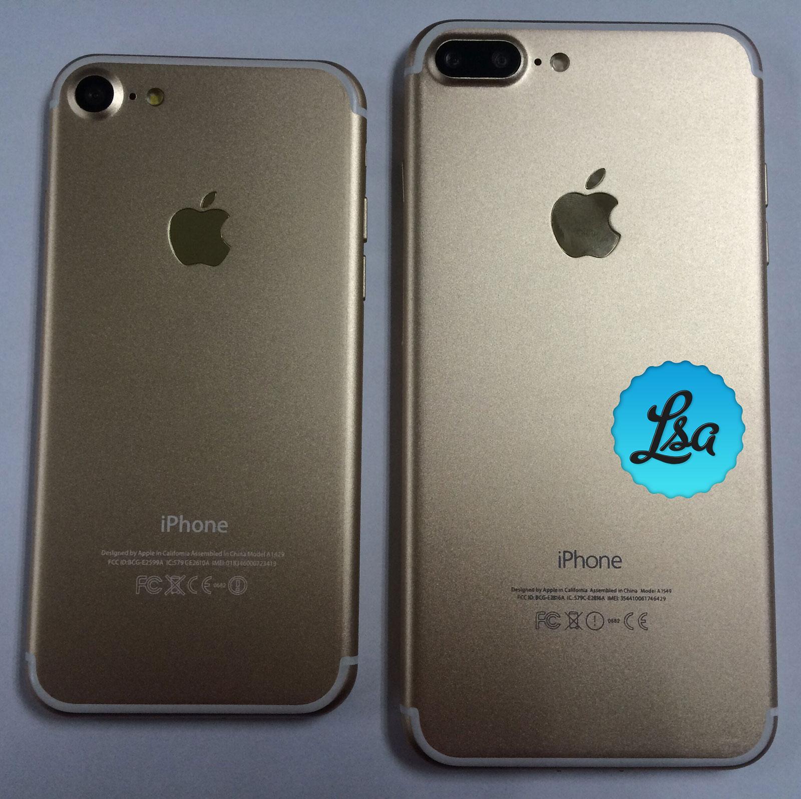 Supuesto iPhone 7 y 7 Plus