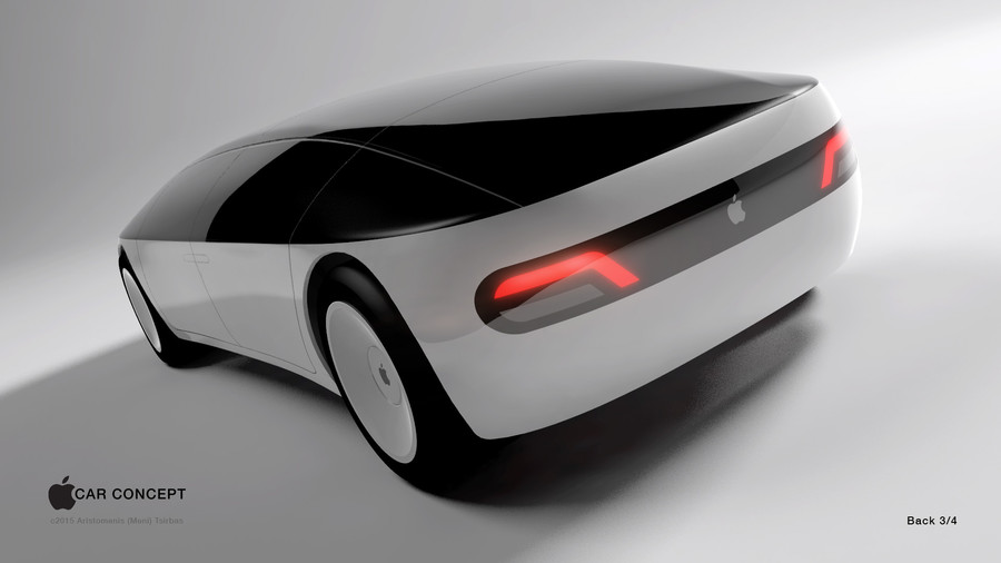 Concepto de diseño de coche de Apple