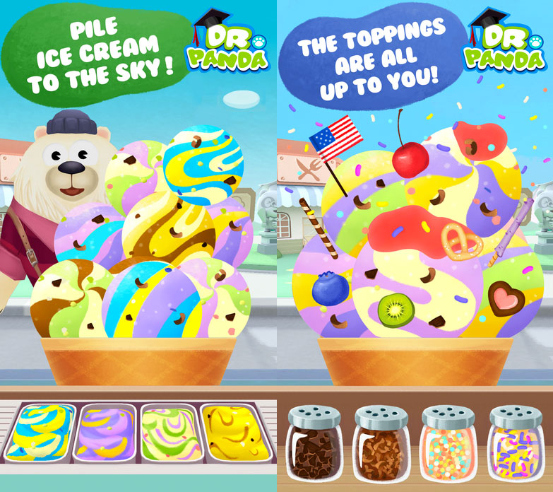 Dr. Panda's Ice Cream Truck