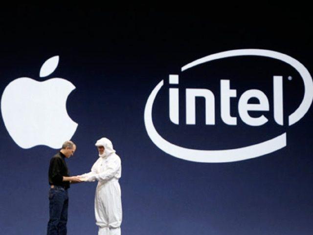 Intel y Apple