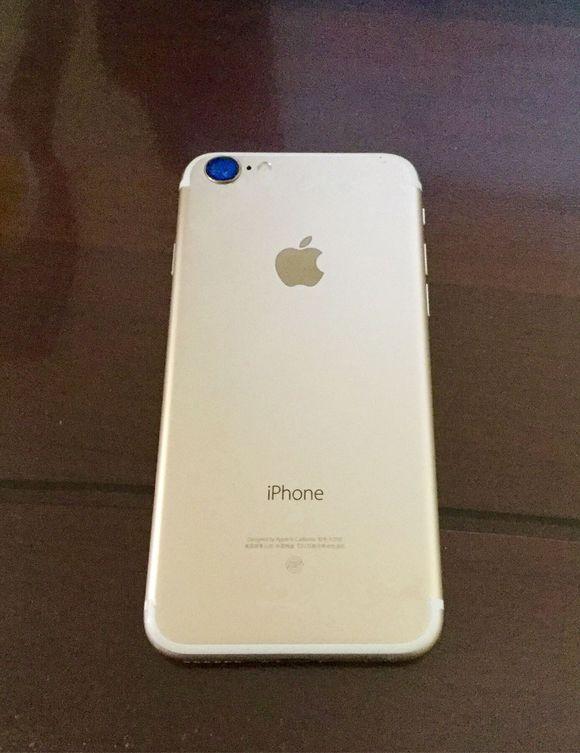 Supuesta carcasa del iPhone 7