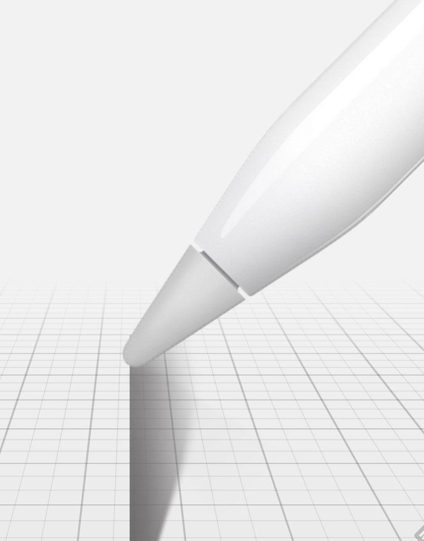 Trazos más anchos con el Apple Pencil