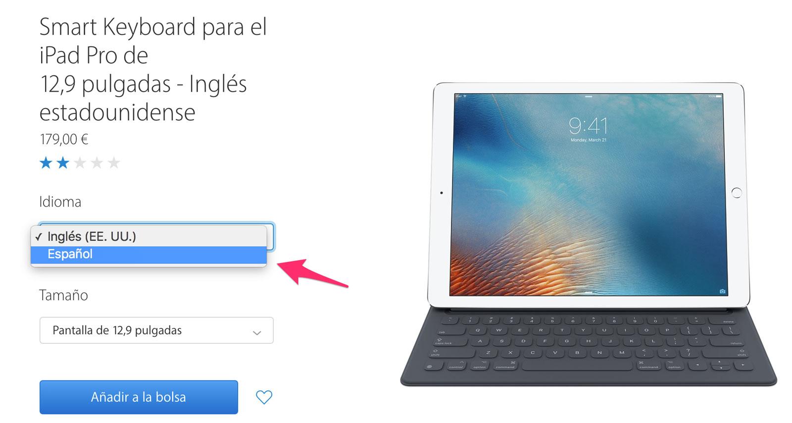 Ya tenemos teclados internacionales para el iPad Pro