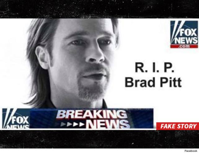 Bradd Pitt hoax
