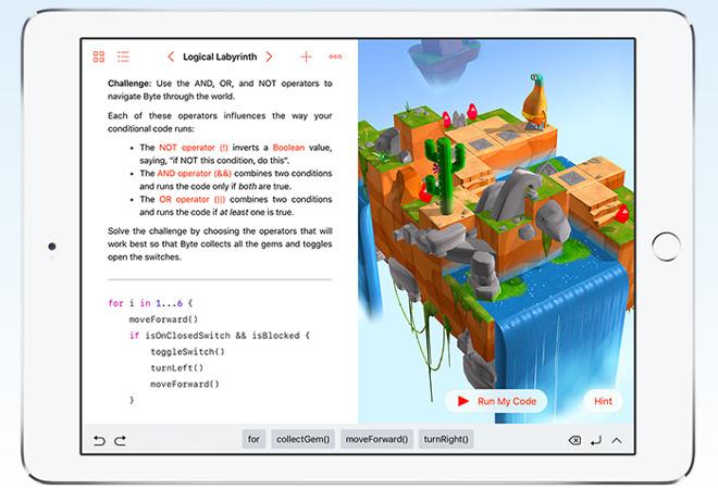 Swift Playgrounds iPad_2
