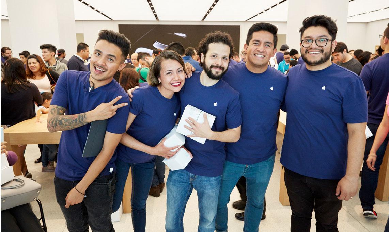 Apertura de la primera Apple Store de México