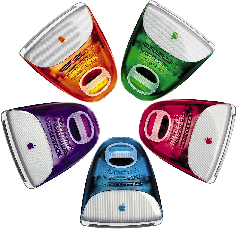 iMac G3 en todos sus colores