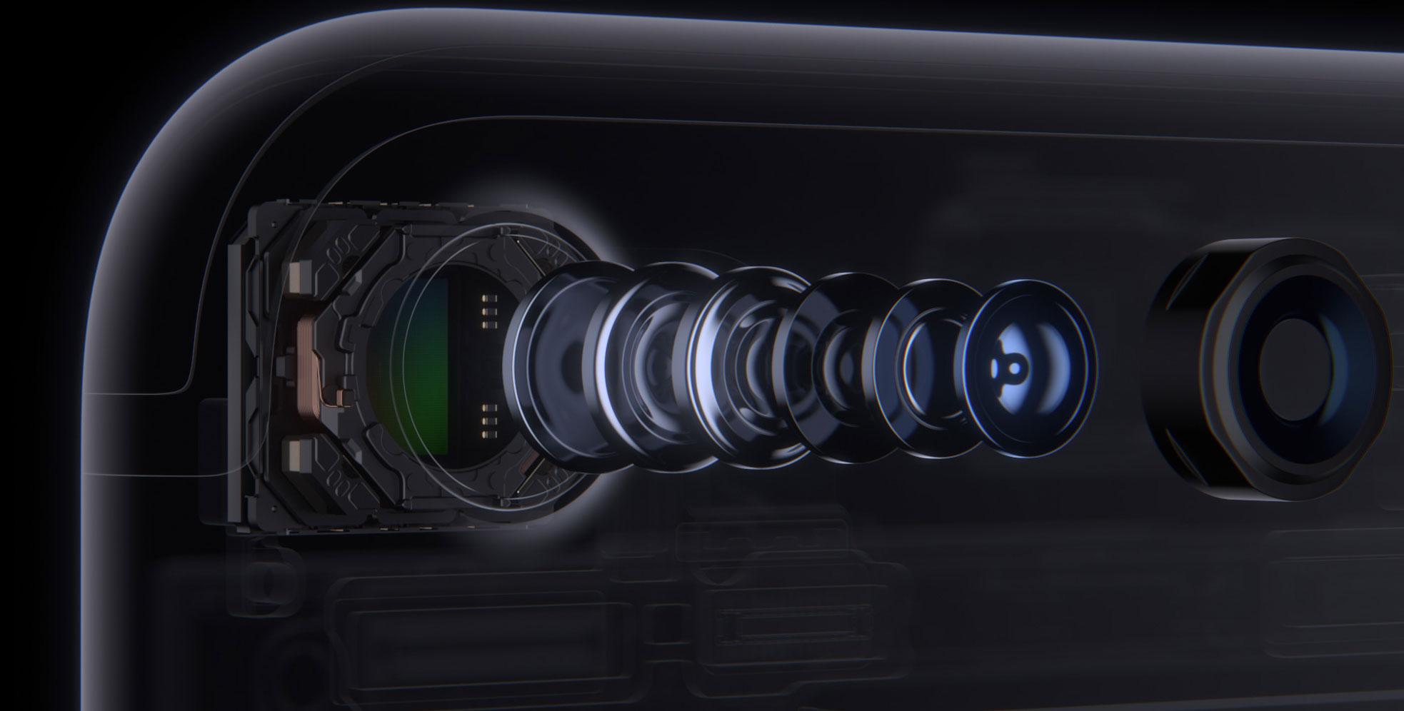 Juego de lentes en el iPhone 7