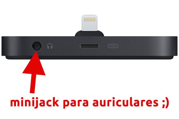 Base Dock Lightning para el iPhone – Negro