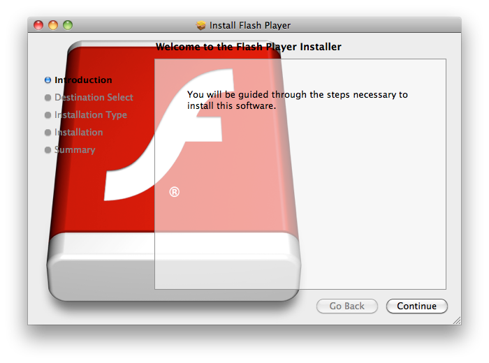 Flash player instalador