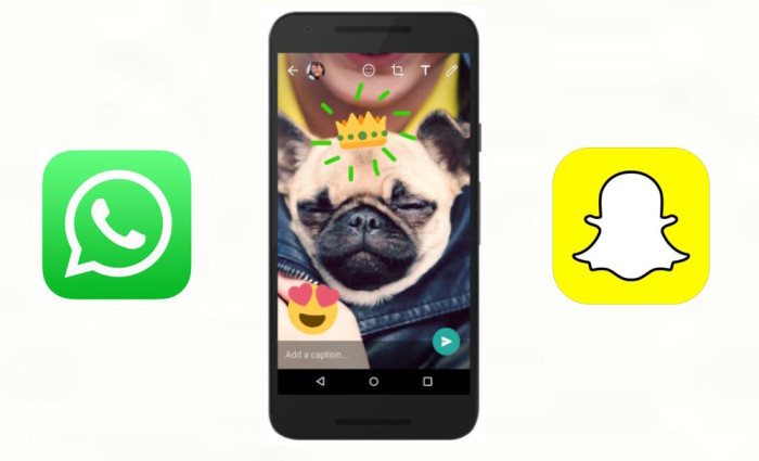 WhatsAppSnapchat