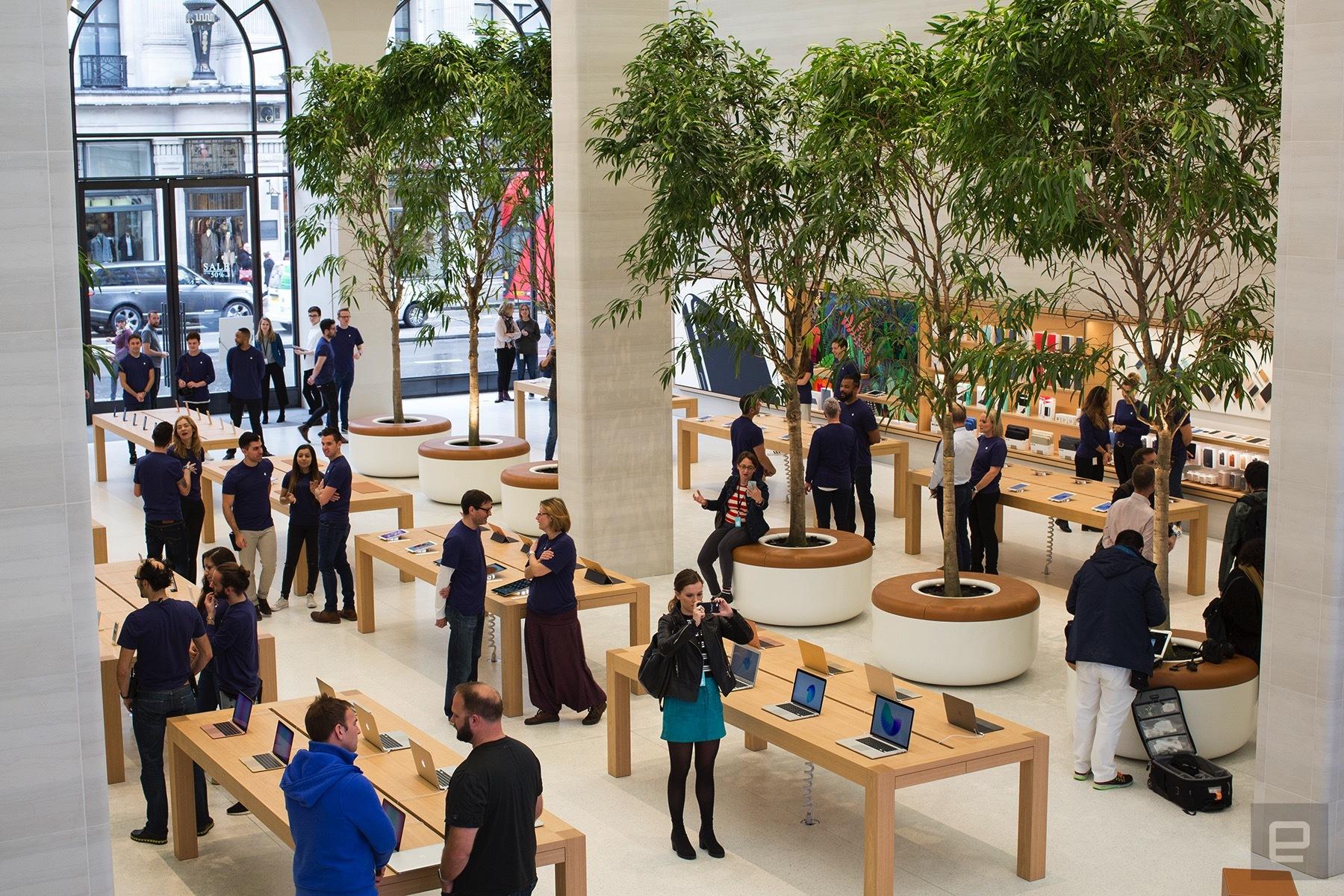 Apple Store de Regent Street en Londres