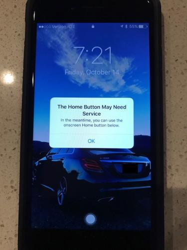 botón home iphone 7