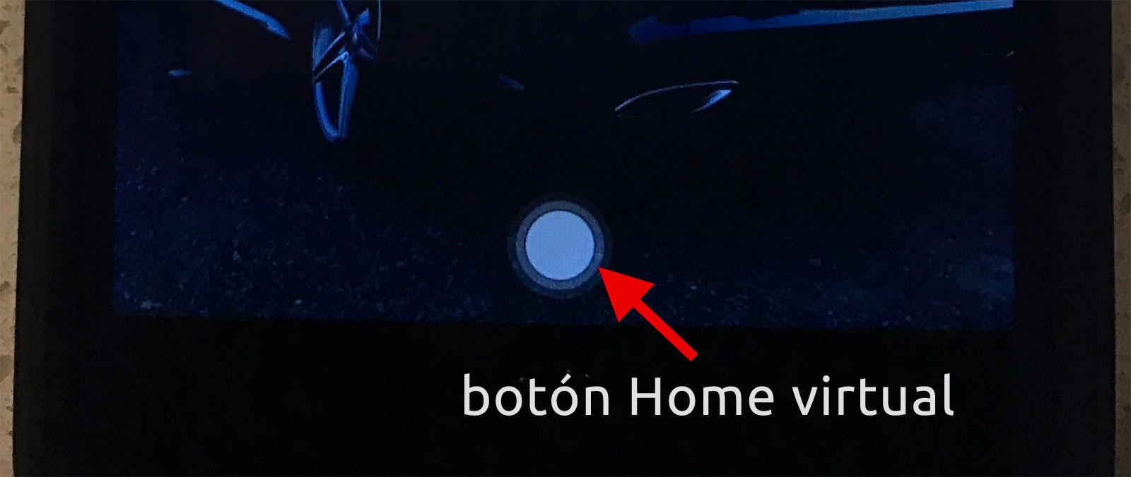 Botón Home virtual