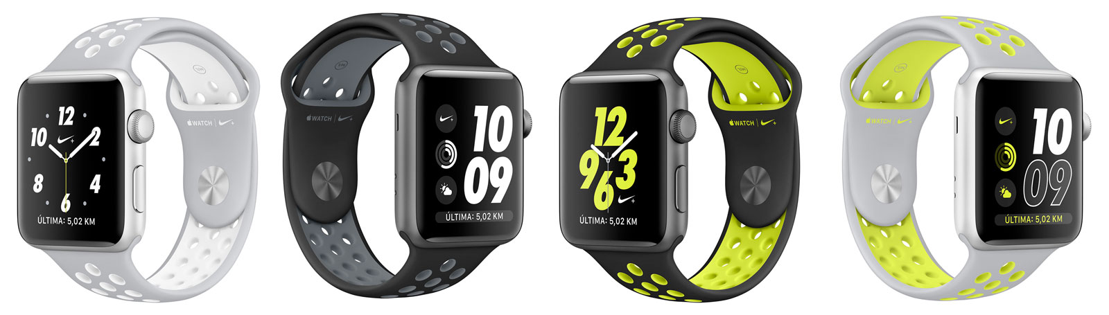 Colores del Apple Watch 2 Nike+