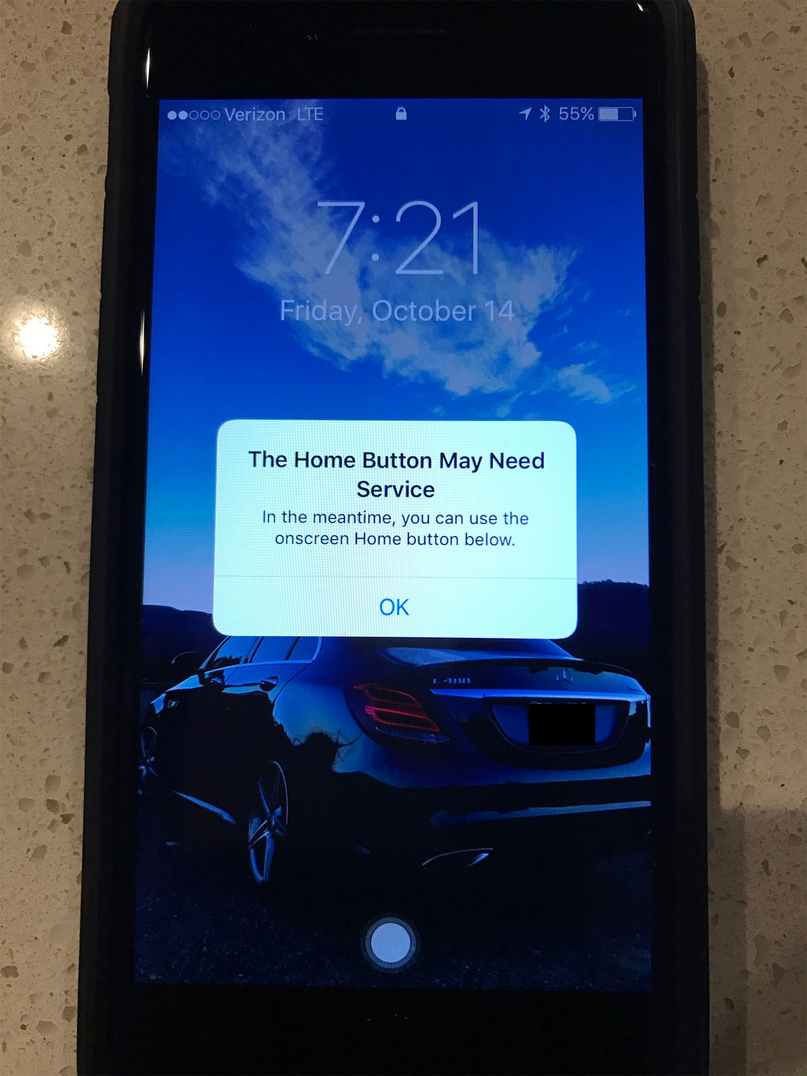 Cuando no funciona el botón Home táctil del iPhone