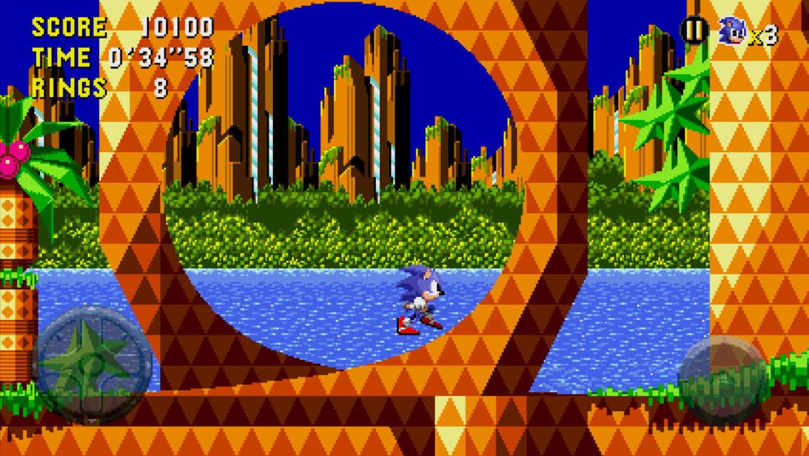 Sonic CD en el iPhone