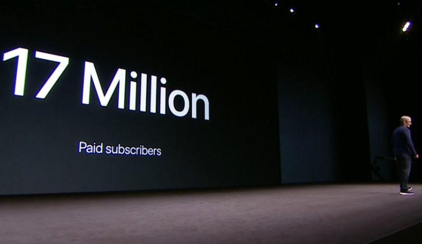 Tim Cook anuncia que Apple Music ha alcanzado los 17 millones de suscripciones