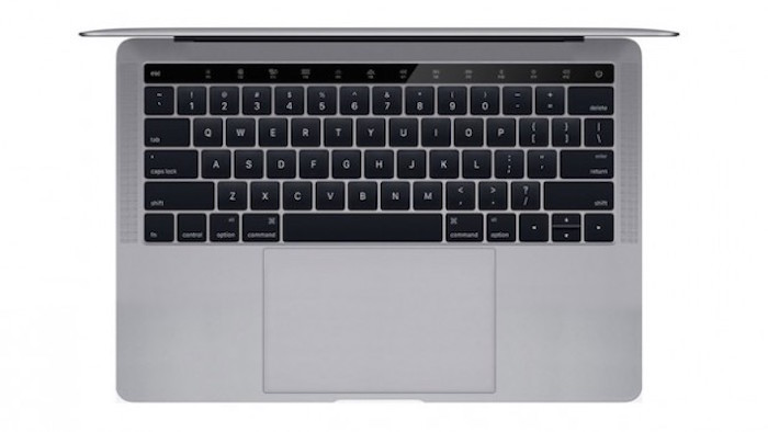 MacBook Pro Touch Bar picado