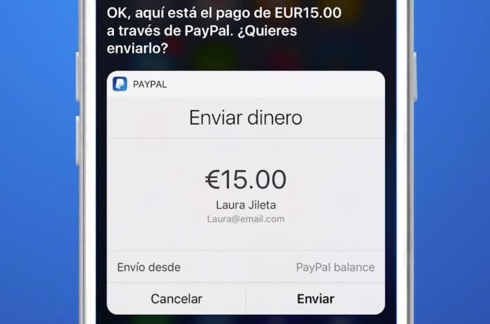 PayPalSiri