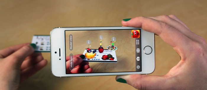Realidad Aumentada iPhone