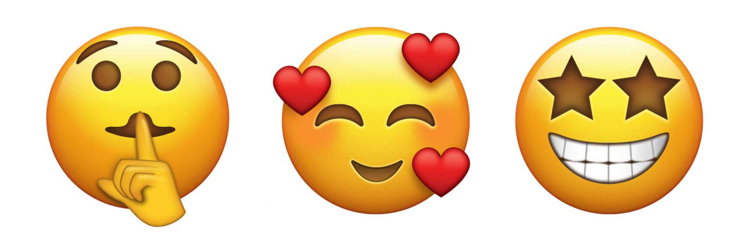 Emojis Unicode v10