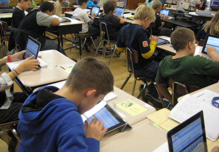 iPad estudiantes