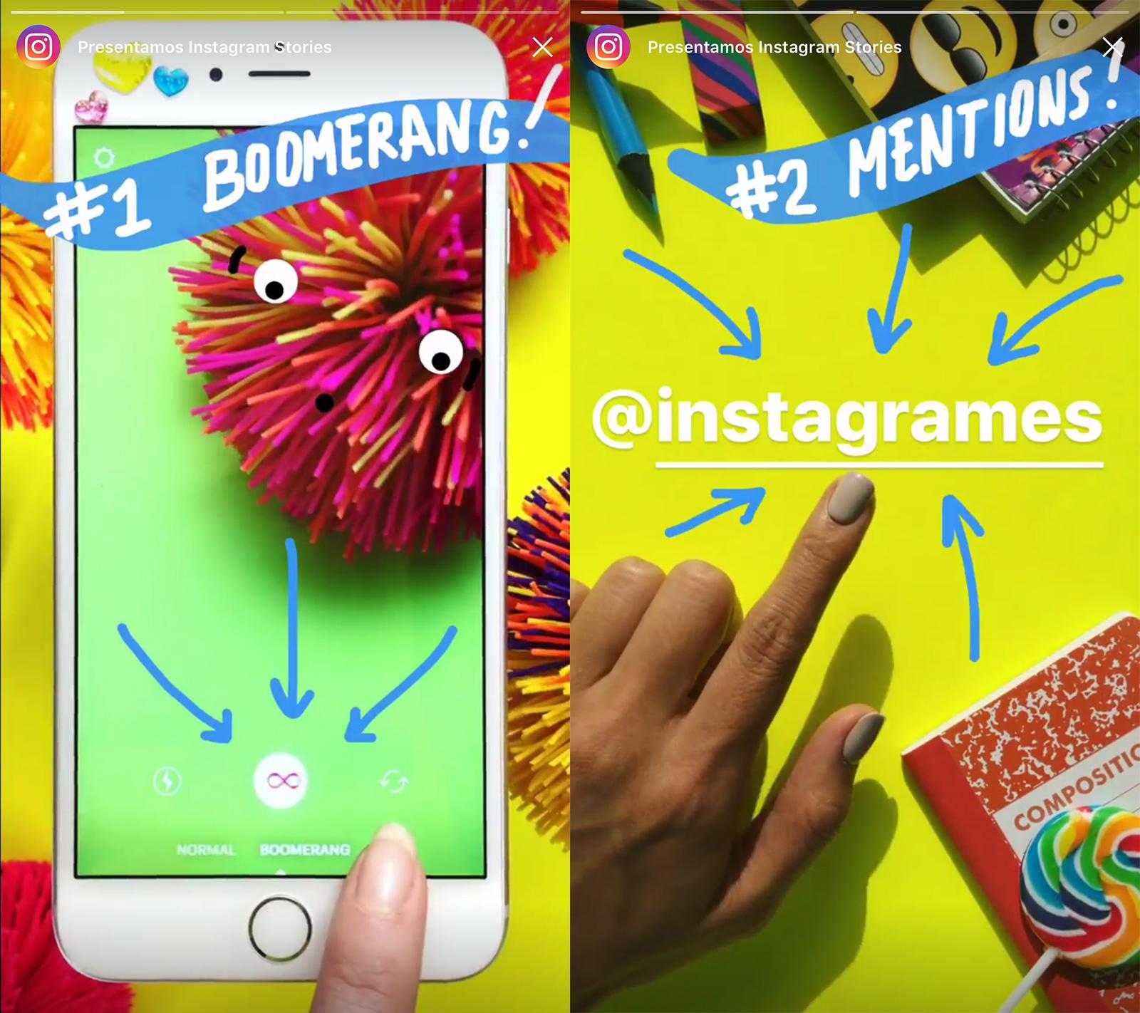 Nuevo modo Boomerang de Instagram