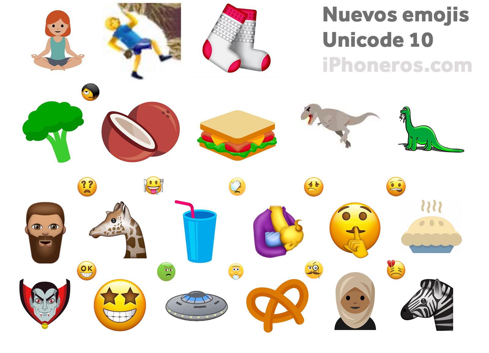 Emojis para el 2017