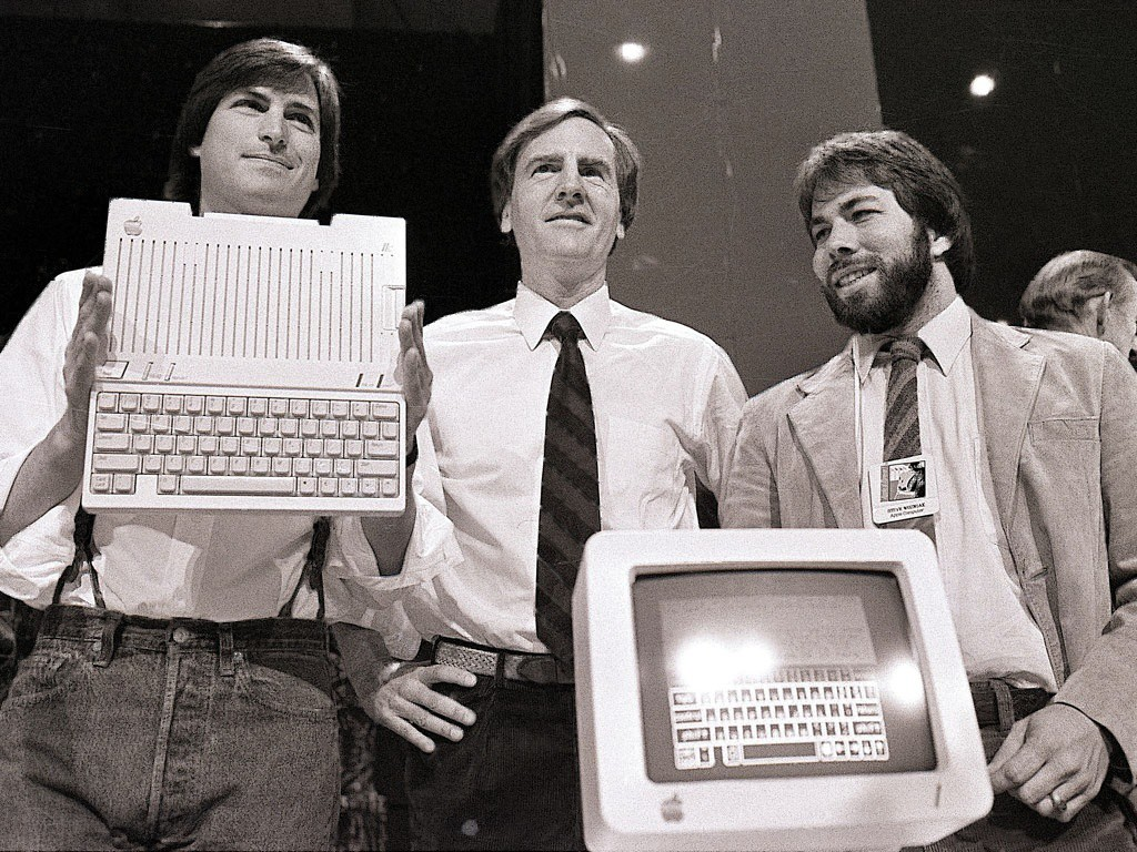 Steve Jobs, Steve Wozniak, Ronald Wayne,