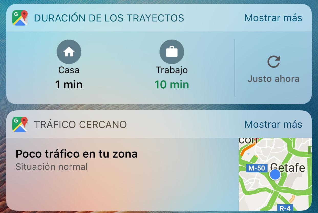 Widgets de Google Maps