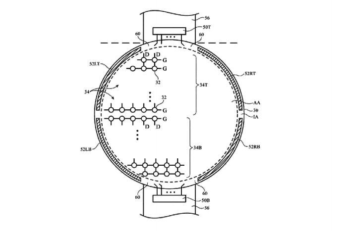 patente Apple Watch redondo