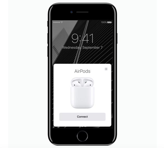 AirPods conectados