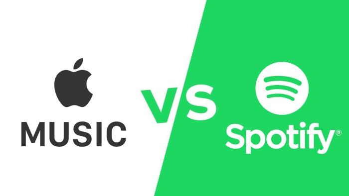 Apple Music y Spotify