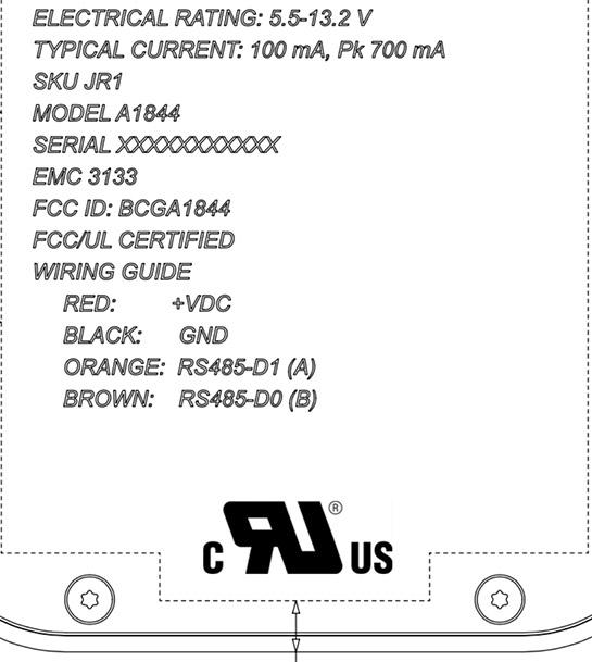 A1844 en la FCC