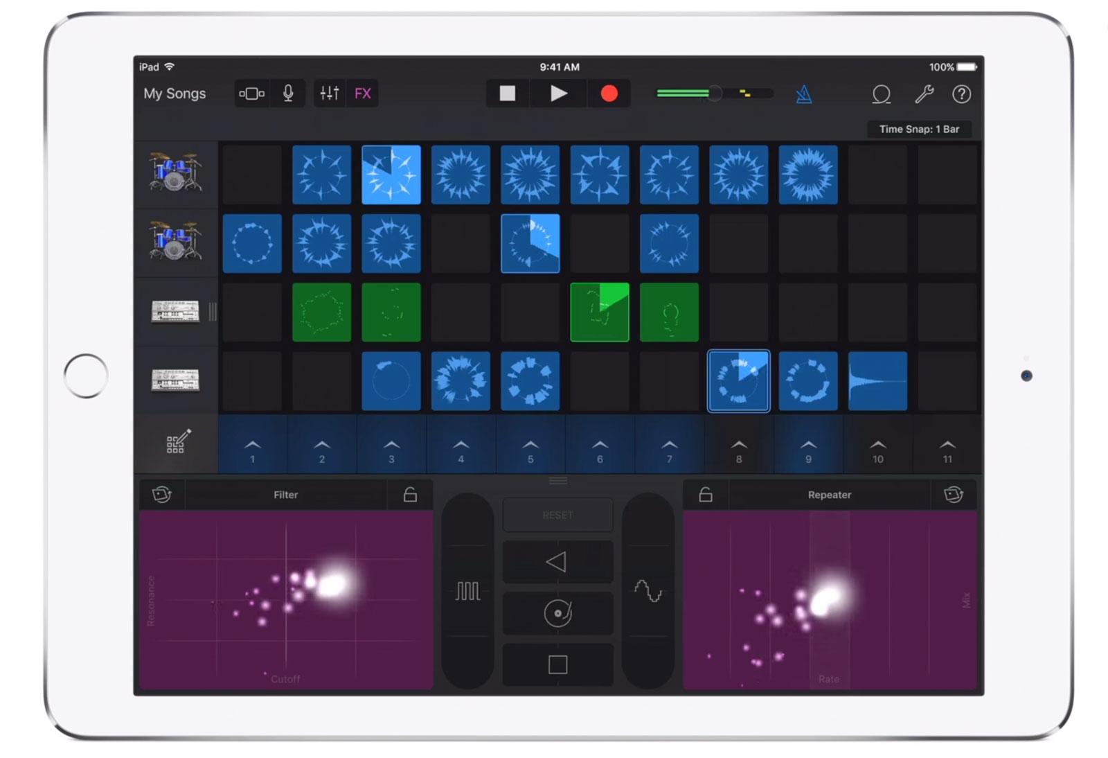 Garange Band 2.2 para iOS