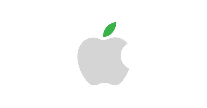 logo apple ecologismo