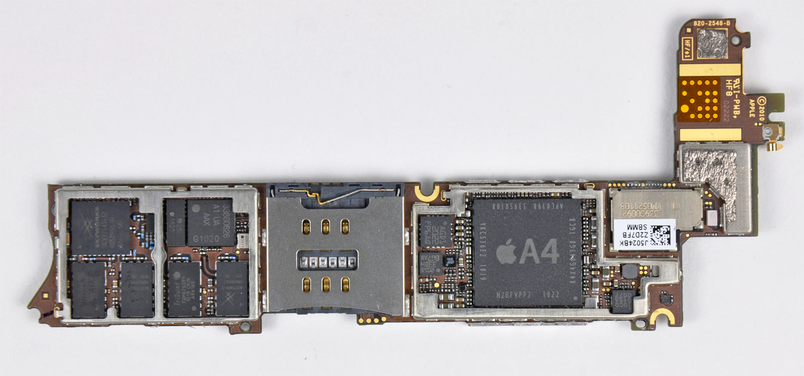 Placa base del iPhone 4
